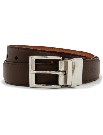 Dress Reversible Leather Belt
