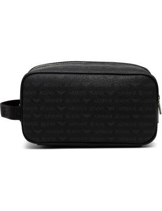 J4 Printed Eco Leather Wash Bag