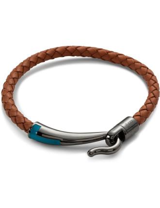 Leather Bracelet Hook Closure