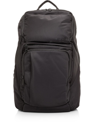 Silky Nylon Double Gusset Computer Backpack