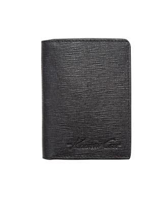 Saffiano 3cc Booklet Wallet
