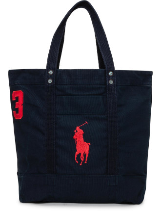 Solid Medium Canvas Tote