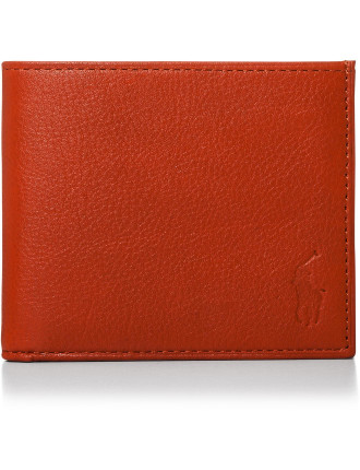 Pebble Leather 8cc Billfold