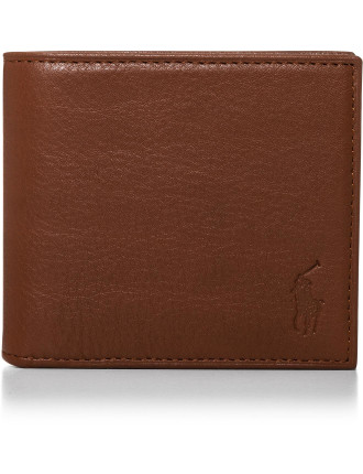 Pebble Leather 4cc Billfold coin pouch