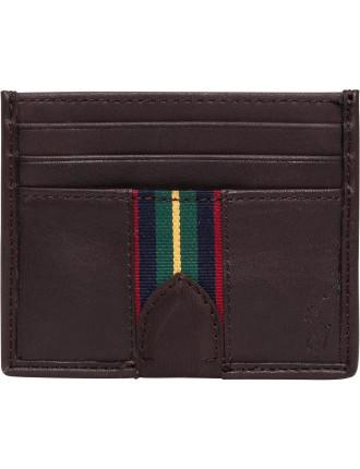 Grosgrain-Striped Card Case