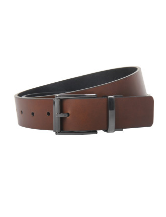Reversible Gunmetal Pin Buckle 35mm Belt