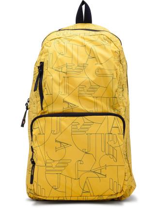 Printed Nylon Packable Backpack