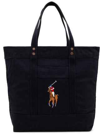 Multi Polo Player Canvas Tote