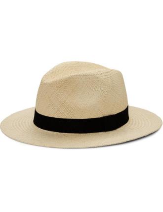 Classic Panama Hat W/ Grow Grain Band