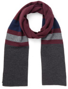 4 Colour Striped Knitted Scarf $17.98