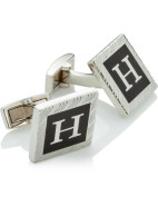 Mayfair H Engraved In A Box Cufflink $149.00