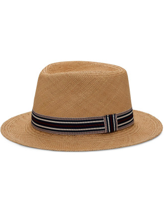Straw Latina Panama Hat