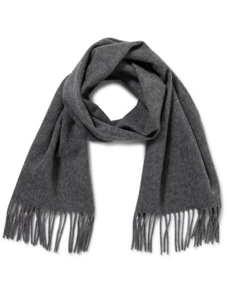 Plain Woven Wool Scarf