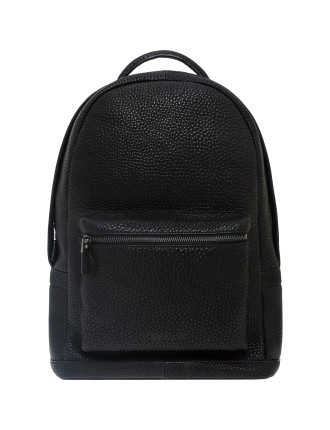 Transit Pebble Grain Leather Backpack