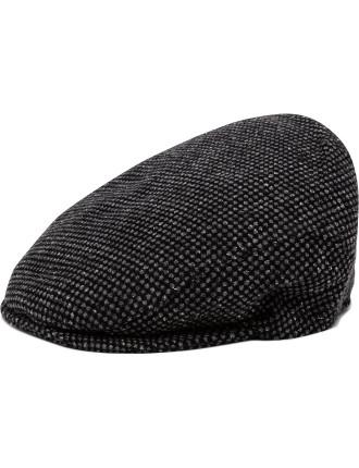 Birds Eye Stitch 70/20/10 Wool/Nylon/Silk Flat Hat
