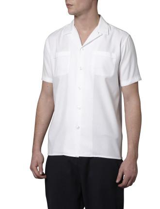 Short Sleeve Frank B Pique Shirt