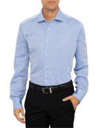 Long Sleeve Daniele Subtle Herringbone Shirt $99.50