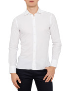Long Sleeve Daniele Micro Stone Pop Shirt $99.50