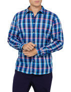 Long Sleeve Classic Fit Bright Gingham Shirt $132.30