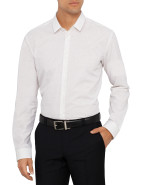 Long Sleeve Ero Long Coloured Slub Shirt $99.50