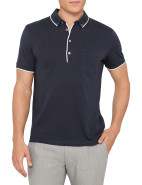 Short Sleeve Cormac Mercerised Cotton Polo $71.40