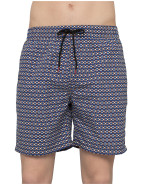 Long Classic Diamond Check Swim Short $95.40