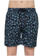 Long Classic Shark Teeth Swim Short $95.40