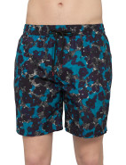 Long Classic Flower Print Swim Short $95.40