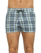 Aaron Plaid Swim Short $160.30