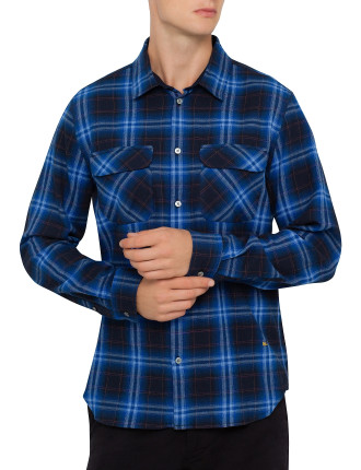 Long Sleeve Burlington Plaid Shirt
