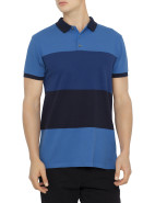 Short Sleeve Newport Wide Stripe Polo $169.00