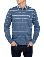 Long Sleeve Gradual Stripe Shirt $199.00