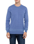 Houndstooth Crew Neck Knit $219.00
