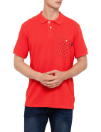 Short Sleeve Spot Pocket Polo $109.00