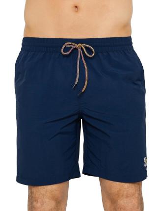 Solid Long Classic Swim Short