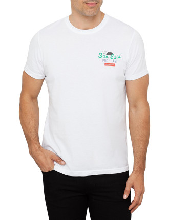 San Luis Tee With Embroidered Back Motif