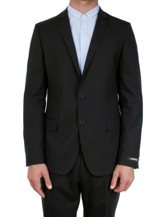 2 Button Pin On Lapel Suit