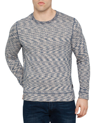 Crew Neck Space Dye Sweatshirt