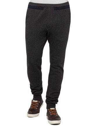 Draw String Contrast Tape Trackpant