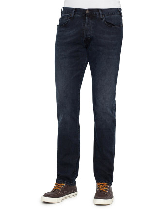 Tapered Fit Stretch Jean
