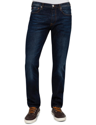 Standard Fit Slightly Washed Effect Jean