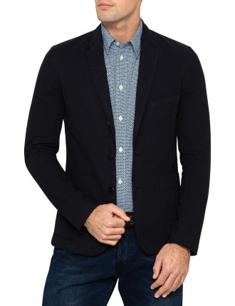 3 Button Unlined Blazer