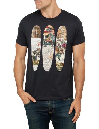 Skateboard Tee