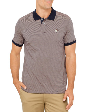 Monkey Stripe Polo