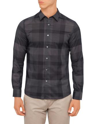 Check Tonal Sheer Check Shirt
