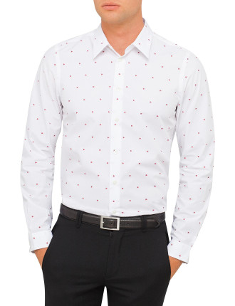 Heart Jacquard Shirt