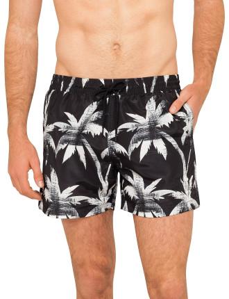 Palm Print Classic Short