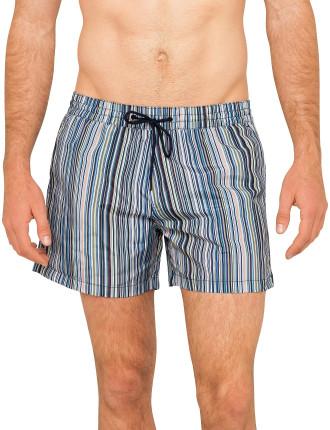Verticle Stripe Ps Classic Swim Short