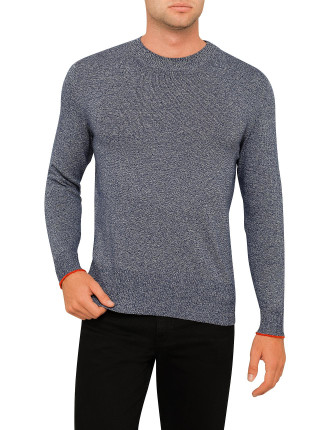Salt And Pepper Indigo Jumper