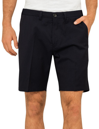 Textured Shorts Smart